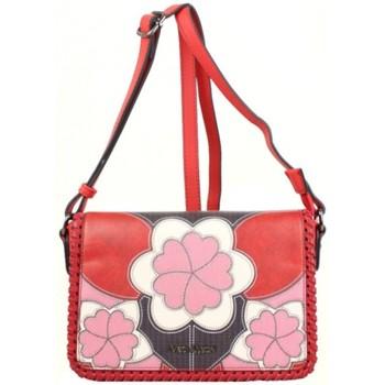 Sacs Femme Sacs Bandoulière Mac Alyster Sac à grand rabat  Impression rouge motif fleur Multicolor