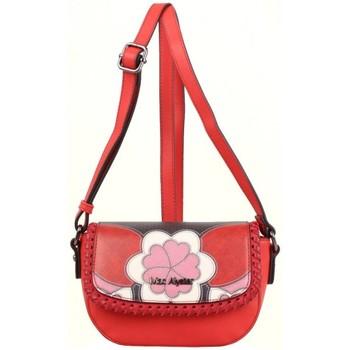 Sacs Femme Sacs Bandoulière Mac Alyster Petit sac à rabat  Impression rouge motif fleur rouge