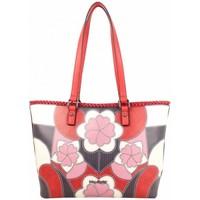 Sacs Femme Cabas / Sacs shopping Mac Alyster Sac shopping  Impression rouge motif fleur rouge