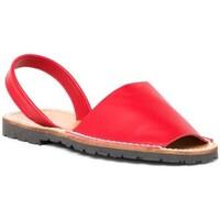 Chaussures Femme Sandales et Nu-pieds Avarca Cayetano Ortuño  Rouge