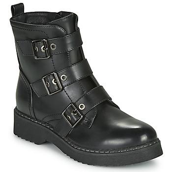Chaussures Femme Boots Spot on F51069 Noir