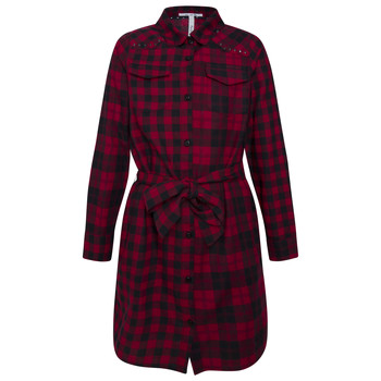 Vêtements Fille Robes courtes Pepe jeans LUPE Rouge