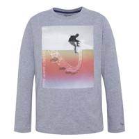 Vêtements Garçon T-shirts manches longues Pepe jeans EDGAR Gris