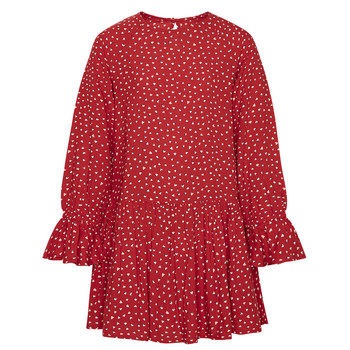 Vêtements Fille Robes courtes Pepe jeans CATY Rouge
