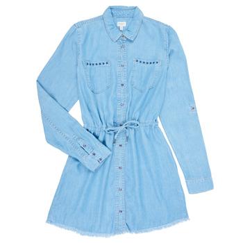 Vêtements Fille Robes courtes Pepe jeans ZOEY Bleu