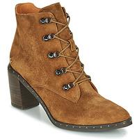 Chaussures Femme Bottines Mam'Zelle Necla Camel