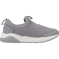 Chaussures Fille Baskets basses Geox J HIDEAKI GIRL Gris