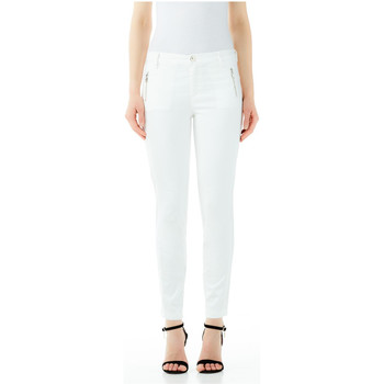 Vêtements Femme Chinos / Carrots Liu Jo FRIDA H.W. 10701-bianco-lana