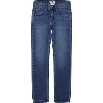 Vêtements Garçon Jeans slim Timberland T24B15 Bleu
