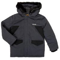 Vêtements Garçon Parkas Timberland T26525 Gris