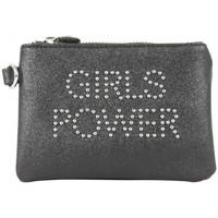 Sacs Femme Portefeuilles Girls Power Porte monnaie plat  Star clouté / pailleté Noir Multicolor