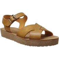 Chaussures Femme Sandales et Nu-pieds Mobils By Mephisto Candie Jaune cuir