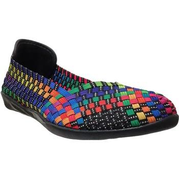 Chaussures Femme Ballerines / babies Bernie Mev Catwalk Noir Multicouleur