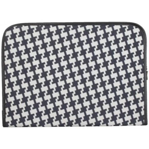 DDP Portfolio housse pour bloc note plat  motif Gris Noir Multicolor 17779449 Sacs Homme