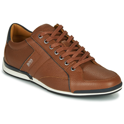 Chaussures Homme Baskets basses BOSS SATURN LOWP TBPF1 Marron