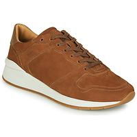 Chaussures Homme Baskets basses BOSS ELMNT RUNN NUSF Cognac