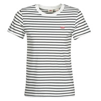 Vêtements Femme T-shirts manches courtes Levi's PERFECT TEE Benitoite cloud dancer