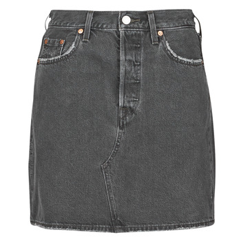 Vêtements Femme Jupes Levi's HR DECON ICONIC BF SKIRT Noir