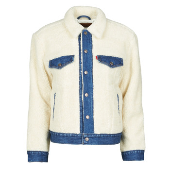 Vêtements Femme Vestes en jean Levi's EX BF PIECED TRCKR Counting sheep