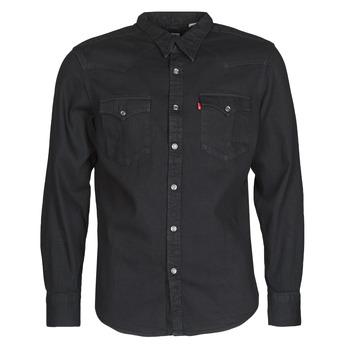 Vêtements Homme Chemises manches longues Levi's BARSTOW WESTERN STANDARD Noir