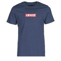 Vêtements Homme T-shirts manches courtes Levi's BOXTAB GRAPHIC TEE Bleu