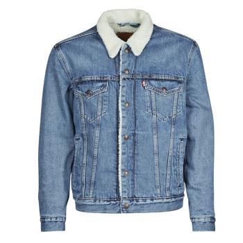 Vêtements Homme Vestes en jean Levi's TYPE 3 SHERPA TRUCKER Bleu