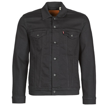 Vêtements Homme Vestes en jean Levi's THE TRUCKER JACKET Noir