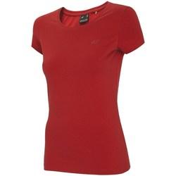 Vêtements Femme T-shirts manches courtes 4F TSD001 Rouge