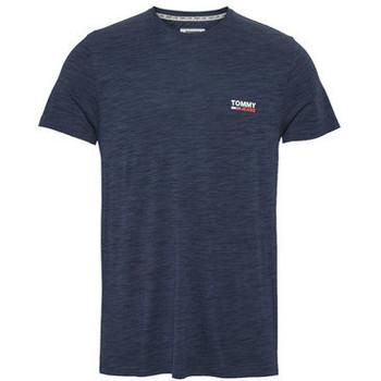 Vêtements Homme T-shirts manches courtes Tommy Jeans Tee-shirt  ref_48771 Marine bleu