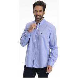 Vêtements Homme Chemises manches longues Gentleman Farmer CAHORS Bleu