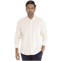 Vêtements Homme Chemises manches longues Gentleman Farmer CASEY Blanc