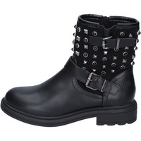 Chaussures Femme Bottines Francescomilano bottines cuir synthétique noir