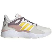 Chaussures Femme Running / trail adidas Originals Crazychaos Blanc,Gris,Rose