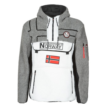 Vêtements Homme Polaires Geographical Norway RIAKOLO Blanc