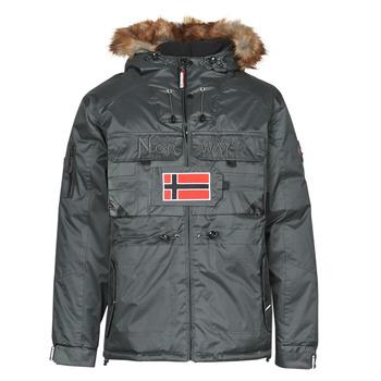 Vêtements Homme Parkas Geographical Norway BENCH Gris Foncé
