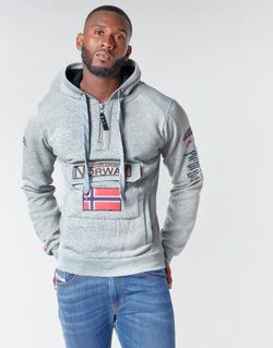 Vêtements Homme Sweats Geographical Norway GYMCLASS Gris Mélange