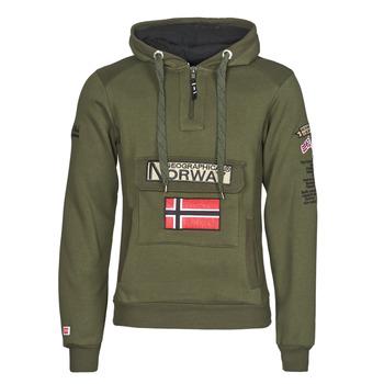 Vêtements Homme Sweats Geographical Norway GYMCLASS Kaki