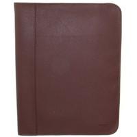 Sacs Porte-Documents / Serviettes Hexagona Conférencier  cuir ref_48615 Chocolat 32*25*2 chocolat