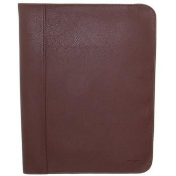 Sacs Porte-Documents / Serviettes Hexagona Conférencier  cuir ref_48615 Chocolat 32*25*2 Marron