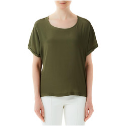 Vêtements Femme T-shirts manches courtes Liu Jo TOP x0277-military-green