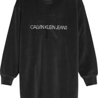 Vêtements Fille Robes courtes Calvin Klein Jeans IG0IG00711-BEH Noir