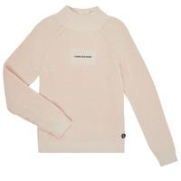 Vêtements Fille Pulls Calvin Klein Jeans IG0IG00680-PGB Gris