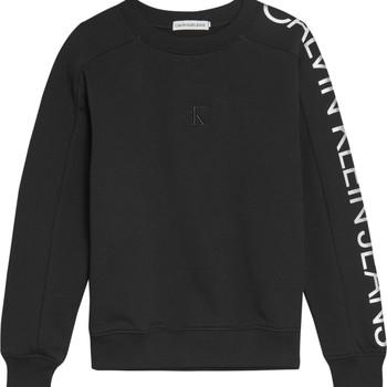Vêtements Fille Sweats Calvin Klein Jeans IG0IG00691-BEH Noir