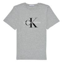 Vêtements Enfant T-shirts manches courtes Calvin Klein Jeans MONOGRAM Gris