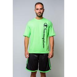 Vêtements Homme T-shirts manches courtes Champion T-shirt à col ras du cou  214233 Vert