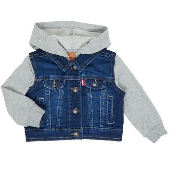 Vêtements Garçon Vestes en jean Levi's INDIGO JACKET Bleu