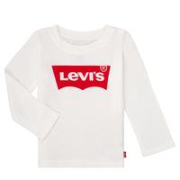 Vêtements Fille T-shirts manches longues Levi's BATWING TEE LS Blanc