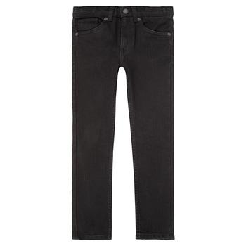 Vêtements Garçon Jeans skinny Levi's 510 SKINNY FIT JEAN Noir