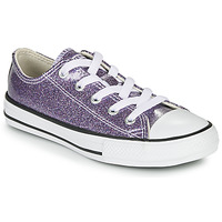 Chaussures Fille Baskets basses Converse Chuck Taylor All Star - Coated Glitter Violet