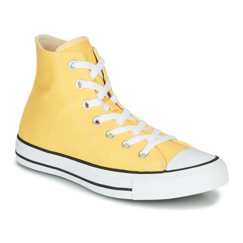 chaussure converse jaune femme